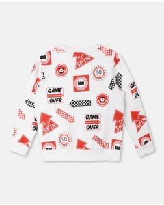 Biz Games Print Sweater
