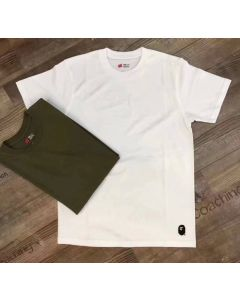 Embroidery Ape Logo Short Sleeve Shirt